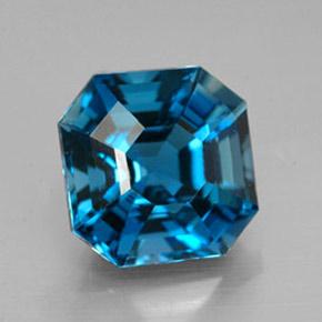 Topaz 4 4ct Octagon Emerald Cut From Brazil Gemstone