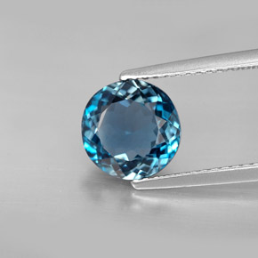 Buy 2.53 ct London Blue Topaz 8.15 mm  from GemSelect (Product ID: 283459)