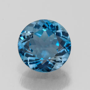 Buy 2.09 ct London Blue Topaz 8.08 mm  from GemSelect (Product ID: 283472)