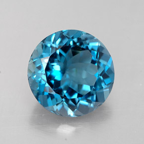 Buy 2.33 ct London Blue Topaz 8.14 mm  from GemSelect (Product ID: 283488)