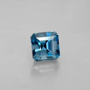Buy 1.87 ct London Blue Topaz 6.15 mm x 6.1 mm from GemSelect (Product ID: 283921)
