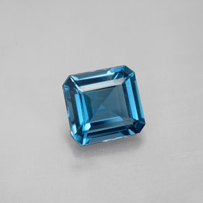 Buy 2.50 ct London Blue Topaz 8.13 mm x 7.8 mm from GemSelect (Product ID: 283994)
