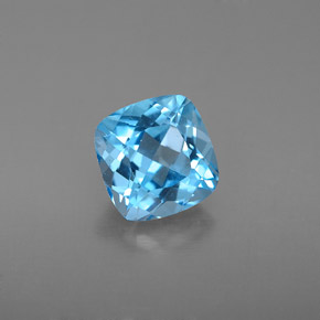 Buy 2.03 ct Swiss Blue Topaz 7.12 mm x 7 mm from GemSelect (Product ID: 284105)