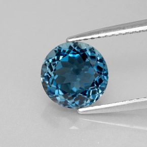 Buy 2.68 ct London Blue Topaz 8.15 mm  from GemSelect (Product ID: 284627)
