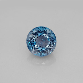 Buy 2.70 ct London Blue Topaz 8.10 mm  from GemSelect (Product ID: 284653)