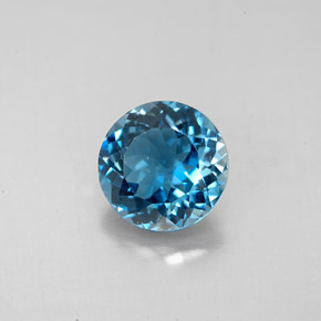 Buy 2.52ct London Blue Topaz 8.17mm  from GemSelect (Product ID: 284663)