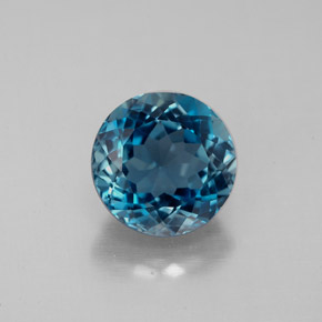 Buy 2.69 ct London Blue Topaz 8.06 mm  from GemSelect (Product ID: 284680)