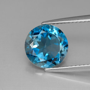 Buy 2.95 ct London Blue Topaz 8.93 mm  from GemSelect (Product ID: 287713)