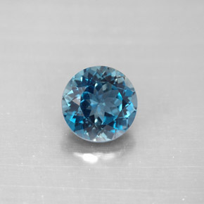 Buy 2.36 ct London Blue Topaz 7.84 mm  from GemSelect (Product ID: 288681)