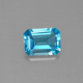 Buy 1.49ct Swiss Blue Topaz 7.92mm x 5.83mm from GemSelect (Product ID: 288793)