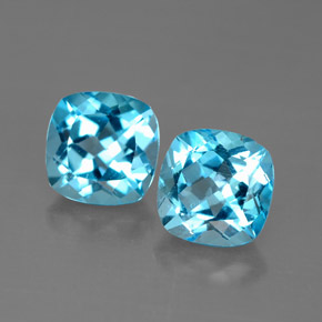Buy 3.92 ct Swiss Blue Topaz 7.02 mm x 7 mm from GemSelect (Product ID: 289172)