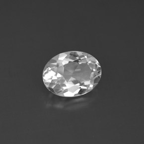 Buy 1.54 ct White Topaz 8.05 mm x 6.1 mm from GemSelect (Product ID: 291793)