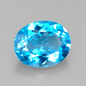 Buy 4.23 ct Swiss Blue Topaz 11.05 mm x 9.1 mm from GemSelect (Product ID: 292551)