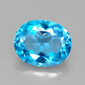 Buy 4.73 ct Swiss Blue Topaz 11.18 mm x 9 mm from GemSelect (Product ID: 292580)