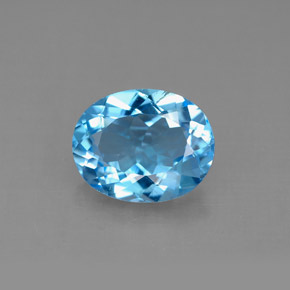 Buy 2.94 ct Swiss Blue Topaz 10.02 mm x 8 mm from GemSelect (Product ID: 292589)