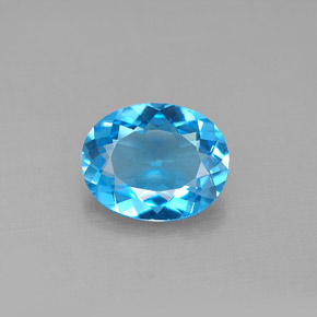 Buy 2.71 ct Swiss Blue Topaz 10.07 mm x 8.1 mm from GemSelect (Product ID: 292592)
