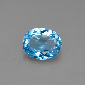 Buy 2.81 ct Swiss Blue Topaz 10.00 mm x 8 mm from GemSelect (Product ID: 292599)