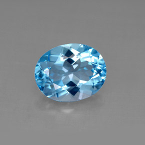 Buy 3.04 ct Swiss Blue Topaz 9.98 mm x 8 mm from GemSelect (Product ID: 292625)