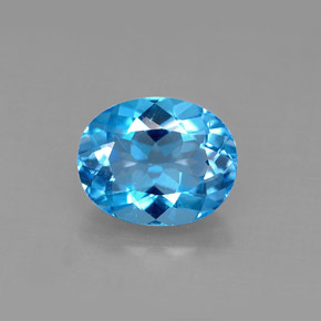 Buy 3.22 ct Swiss Blue Topaz 9.90 mm x 8 mm from GemSelect (Product ID: 292631)