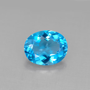 3.2 ct Natural Swiss Blue Topaz