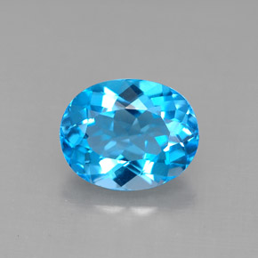 Buy 3.43 ct Swiss Blue Topaz 10.05 mm x 8 mm from GemSelect (Product ID: 292645)