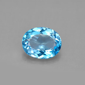 Buy 2.90 ct Swiss Blue Topaz 10.04 mm x 8.1 mm from GemSelect (Product ID: 292661)