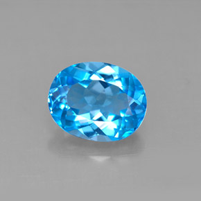Buy 3.35 ct Swiss Blue Topaz 10.02 mm x 8.1 mm from GemSelect (Product ID: 292671)