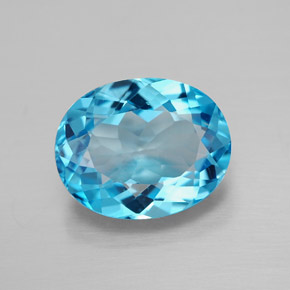 Buy 3.23 ct Swiss Blue Topaz 10.06 mm x 8 mm from GemSelect (Product ID: 292686)