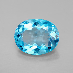 Buy 3.10 ct Swiss Blue Topaz 10.05 mm x 8.1 mm from GemSelect (Product ID: 292690)
