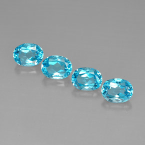 Buy 11.01 ct Swiss Blue Topaz 9.15 mm x 7.1 mm from GemSelect (Product ID: 293104)