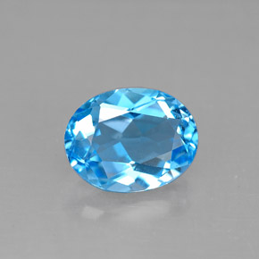 Buy 2.37 ct Swiss Blue Topaz 9.09 mm x 7.1 mm from GemSelect (Product ID: 293131)