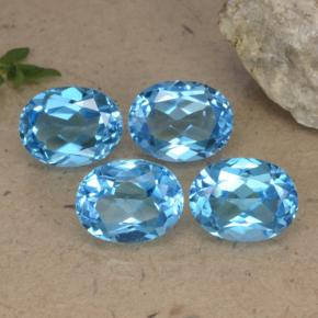 Buy 10.33 ct Swiss Blue Topaz 8.93 mm x 7.1 mm from GemSelect (Product ID: 293133)