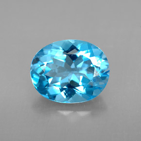 Buy 3.01ct Swiss Blue Topaz 9.95mm x 8.05mm from GemSelect (Product ID: 293413)