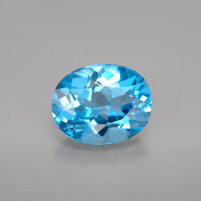 Buy 2.81 ct Swiss Blue Topaz 9.69 mm x 7.8 mm from GemSelect (Product ID: 293753)