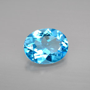 Buy 2.91 ct Swiss Blue Topaz 9.98 mm x 8 mm from GemSelect (Product ID: 293784)