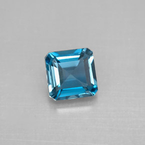 Buy 1.33 ct London Blue Topaz 6.14 mm x 6.1 mm from GemSelect (Product ID: 295441)