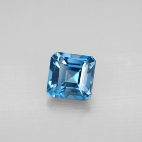 Buy 1.49 ct London Blue Topaz 5.95 mm x 5.9 mm from GemSelect (Product ID: 295465)