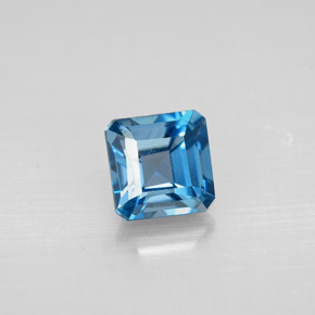 Buy 1.52ct London Blue Topaz 6.00mm x 5.95mm from GemSelect (Product ID: 295466)