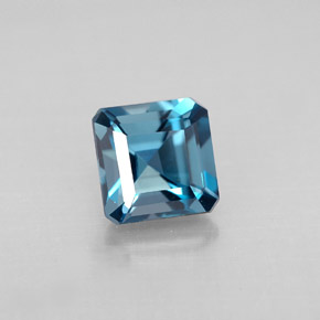 Buy 1.50ct London Blue Topaz 6.03mm x 5.96mm from GemSelect (Product ID: 295494)