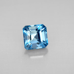 Buy 1.59 ct London Blue Topaz 6.09 mm x 6.1 mm from GemSelect (Product ID: 295515)