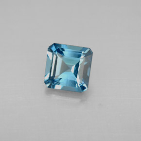 Buy 1.38 ct London Blue Topaz 6.14 mm x 6.1 mm from GemSelect (Product ID: 295541)