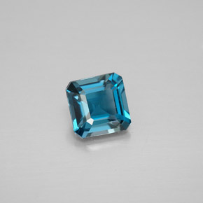 Buy 1.30 ct London Blue Topaz 6.12 mm x 6 mm from GemSelect (Product ID: 296024)