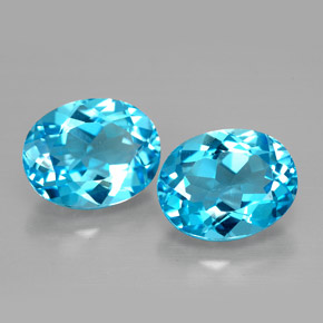 Buy 4.88 ct Swiss Blue Topaz 9.05 mm x 7.1 mm from GemSelect (Product ID: 298244)