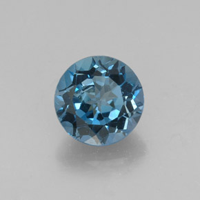 Buy 2.70ct London Blue Topaz 8.09mm  from GemSelect (Product ID: 304347)