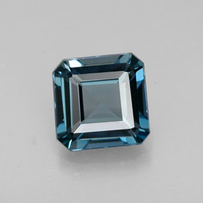 Buy 1.56 ct London Blue Topaz 6.78 mm x 6.7 mm from GemSelect (Product ID: 304472)