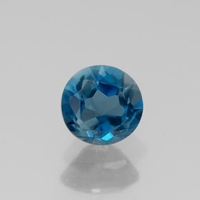 Buy 0.63 ct London Blue Topaz 5.13 mm  from GemSelect (Product ID: 310367)
