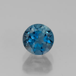 Buy 0.81 ct London Blue Topaz 5.11 mm  from GemSelect (Product ID: 310415)