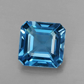 Buy 1.73ct London Blue Topaz 7.02mm x 7.00mm from GemSelect (Product ID: 312358)