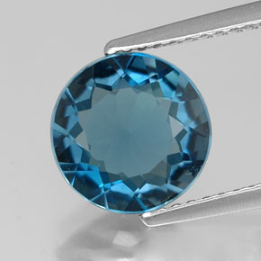 Buy 2.59 ct London Blue Topaz 8.99 mm  from GemSelect (Product ID: 315415)