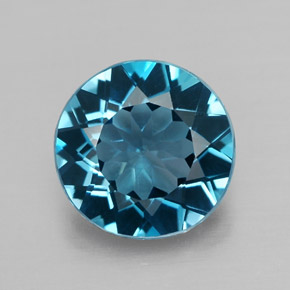 Buy 2.54 ct London Blue Topaz 8.90 mm  from GemSelect (Product ID: 315589)